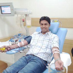 Donor Nikhil PBSC