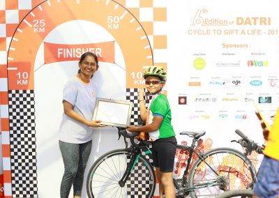 Datri Cycle to Gift a life 23