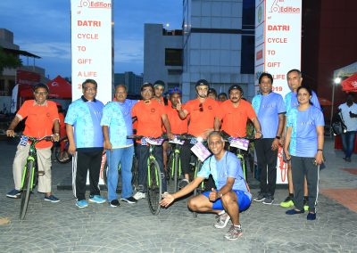 Datri Cycle to Gift a life 5