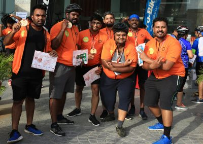 Datri Cycle to Gift a life 8