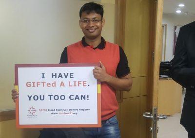 Donor Rahul Agrawal