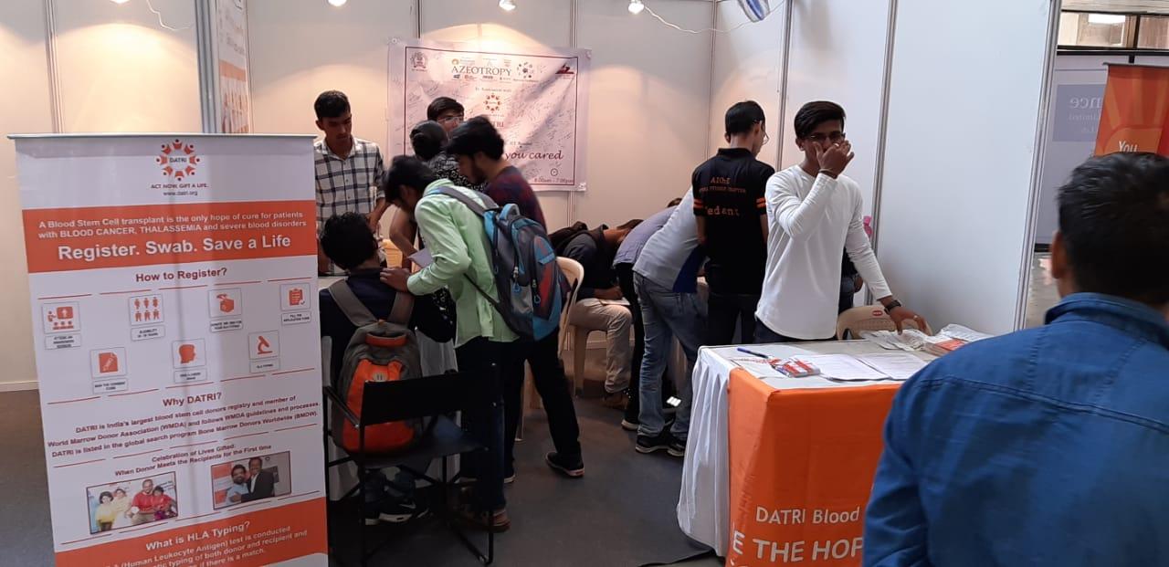 IIT Mumbai drive with help of Volunteers