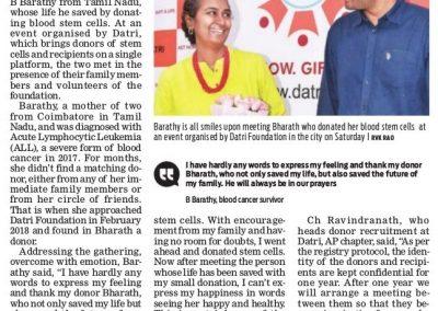 New Indian Express 17 Mar 19