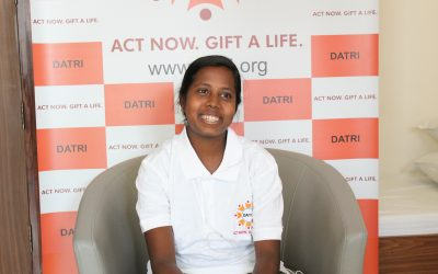 India's first Female Bone Marrow Donor Mrs.Masilamani