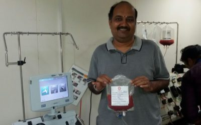 Story of DATRI's most adventurous Blood Stem Cell Donation