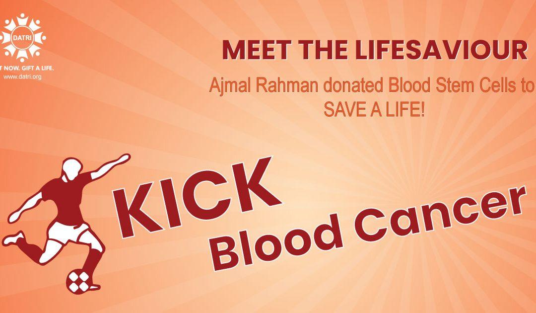 Blood Stem Cell Donation by Kerala's Football Player Ajmal Rahman