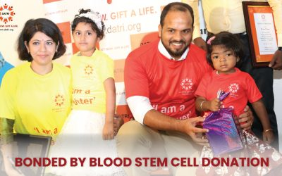 Once strangers now bonded by Blood Stem Cell Donation