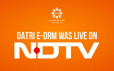 DATRI E-DRM was Live in NDTV
