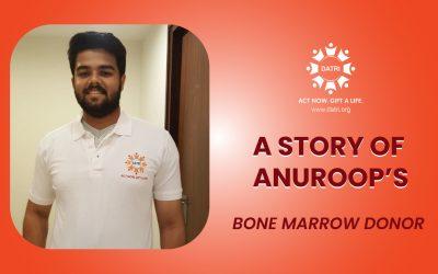 Anuroop's Bone marrow Donation Story