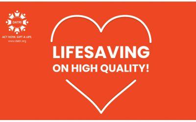 LIFE-SAVING ON HIGH QUALITY
